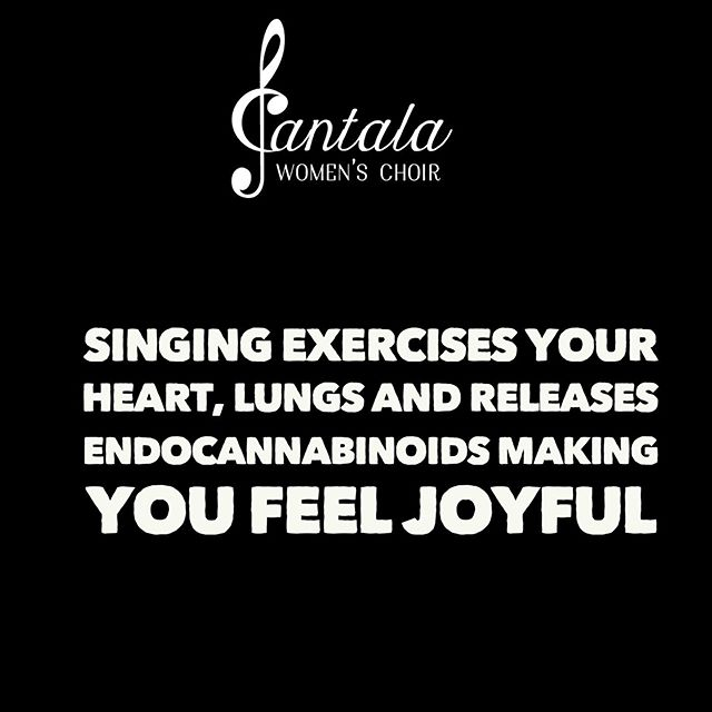 Right?? . Check out Cantala's blog on Endocannabinoids here: https://www.cantalawomenschoir.com/blog/magical-endocannabinoids2022019 . #torontosingers #newtotoronto #lovechoir #torontochoir #choirconductor #nancysingla #cantalawomenschoir #torontochoir #torontowomenschoir#torontochoirs#joyfulsinging #joyfulsingingchoir #yyz