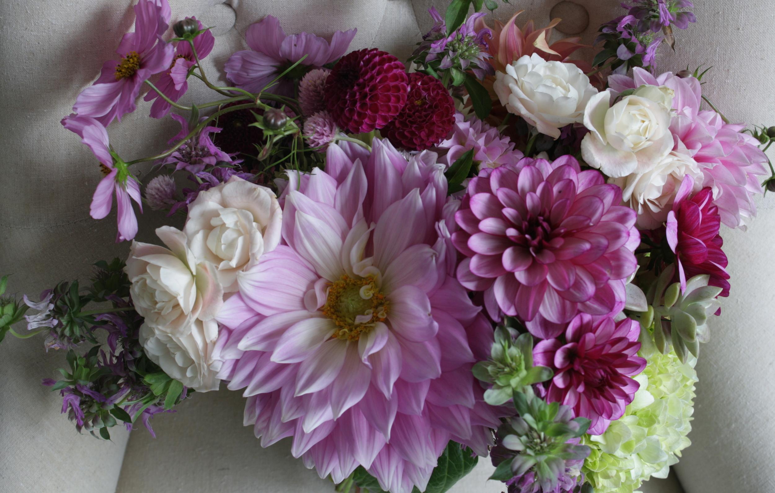Purple Wedding Bouquet Fall Wedding Flowers Philosophy Flowers.JPG