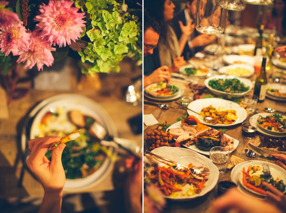 Philosophy Flowers at Kinfolk Charlotte Dinner with Anna Naphtali