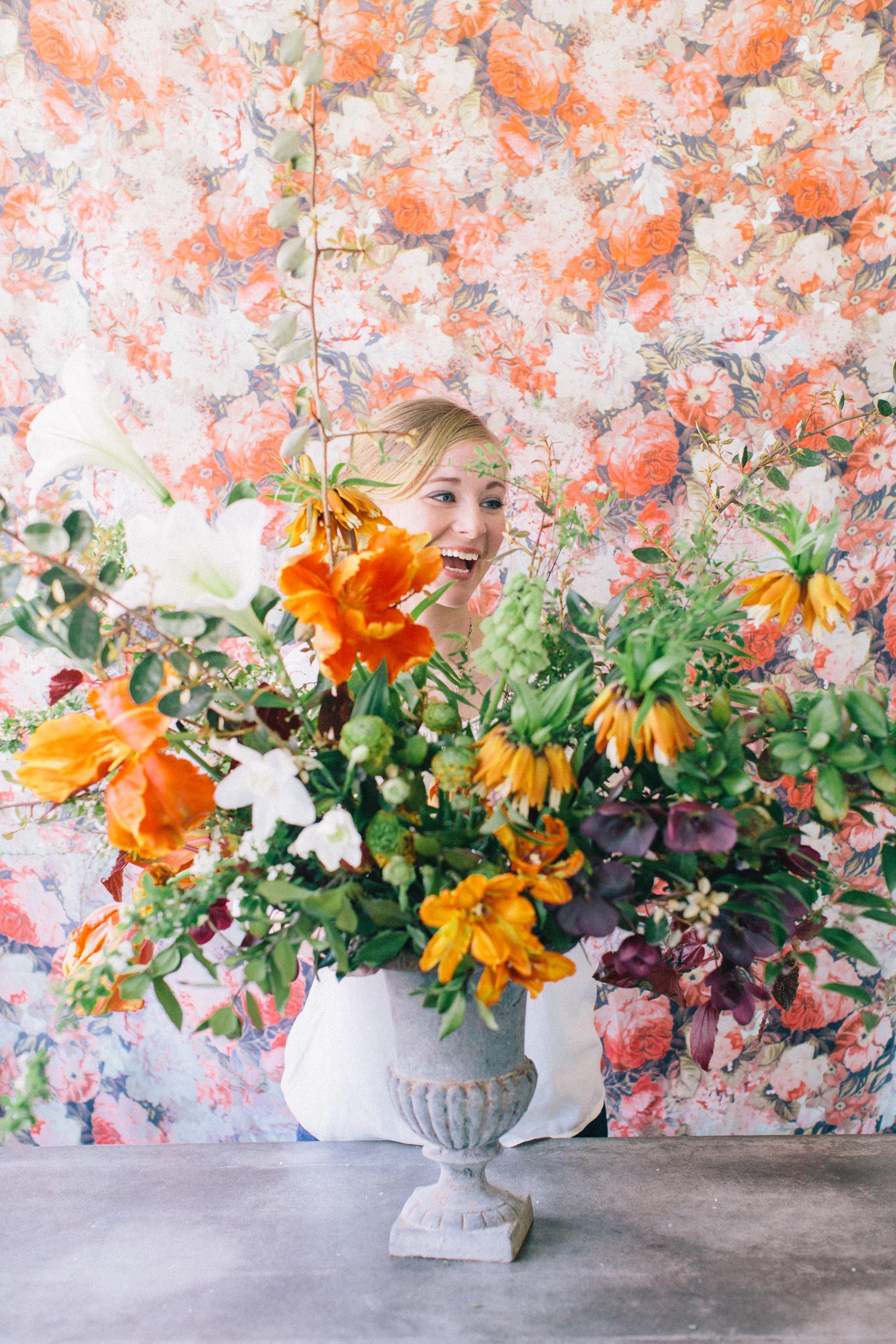 Ariella Chezar Workshop Philosophy Flowers Flowers Event