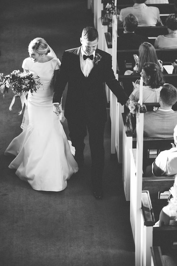 Bride and Groom   Just Married   Wedding   Philosophy Flowers   Blest Studios