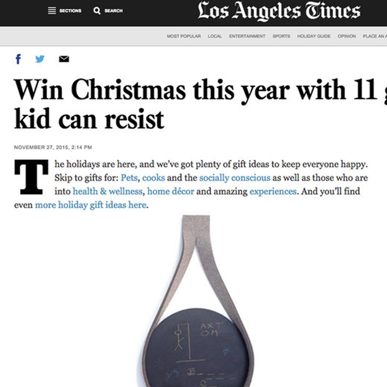 LA Times, 2015