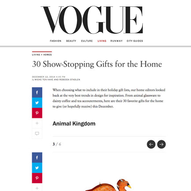 Vogue, 2014