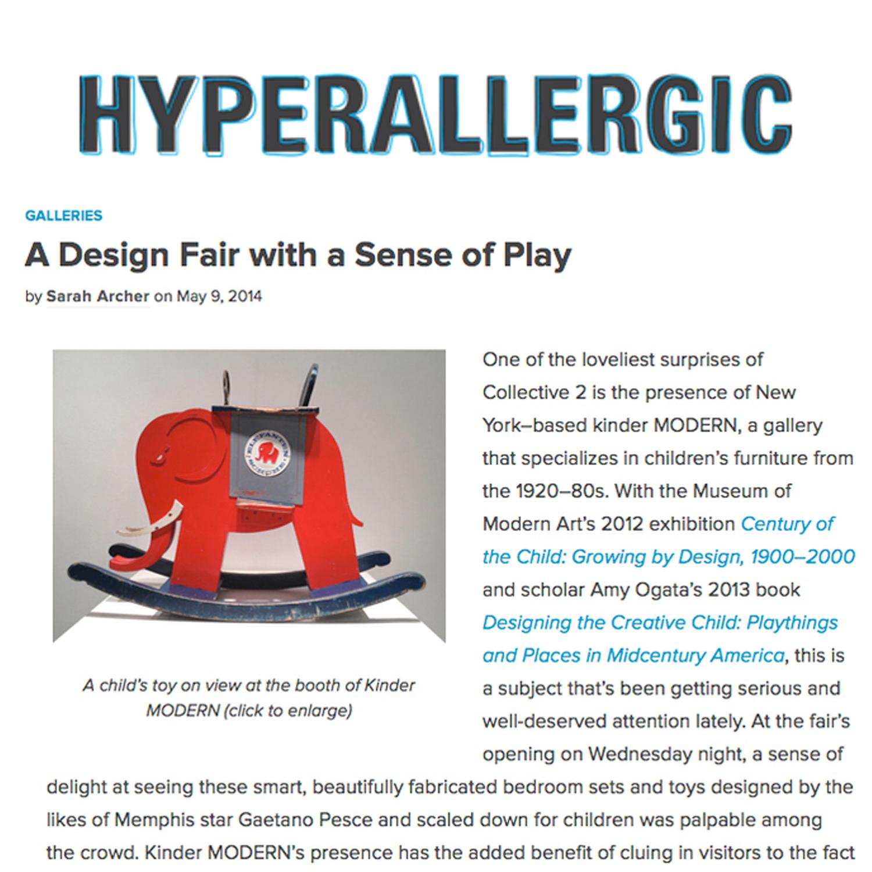 Hyperallergic, 2014