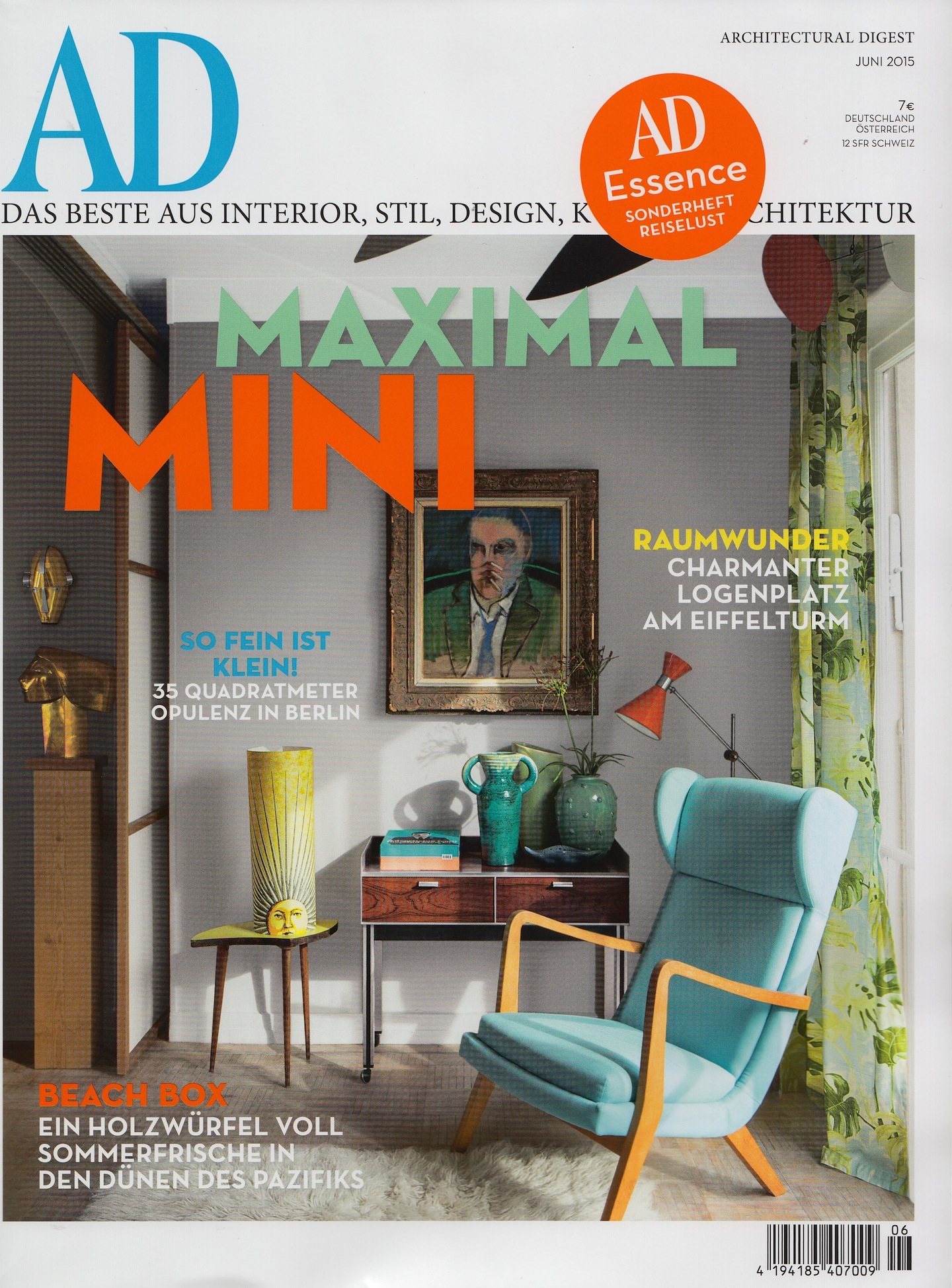 Architectural Digest Germany, June 2015