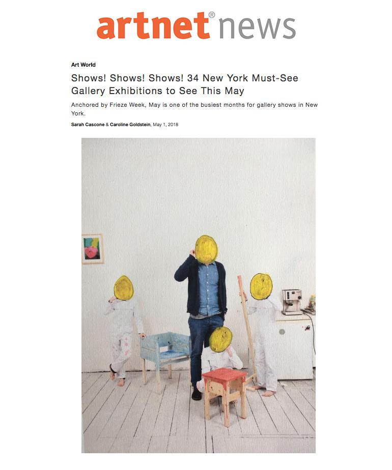 Artnet News, May 2018