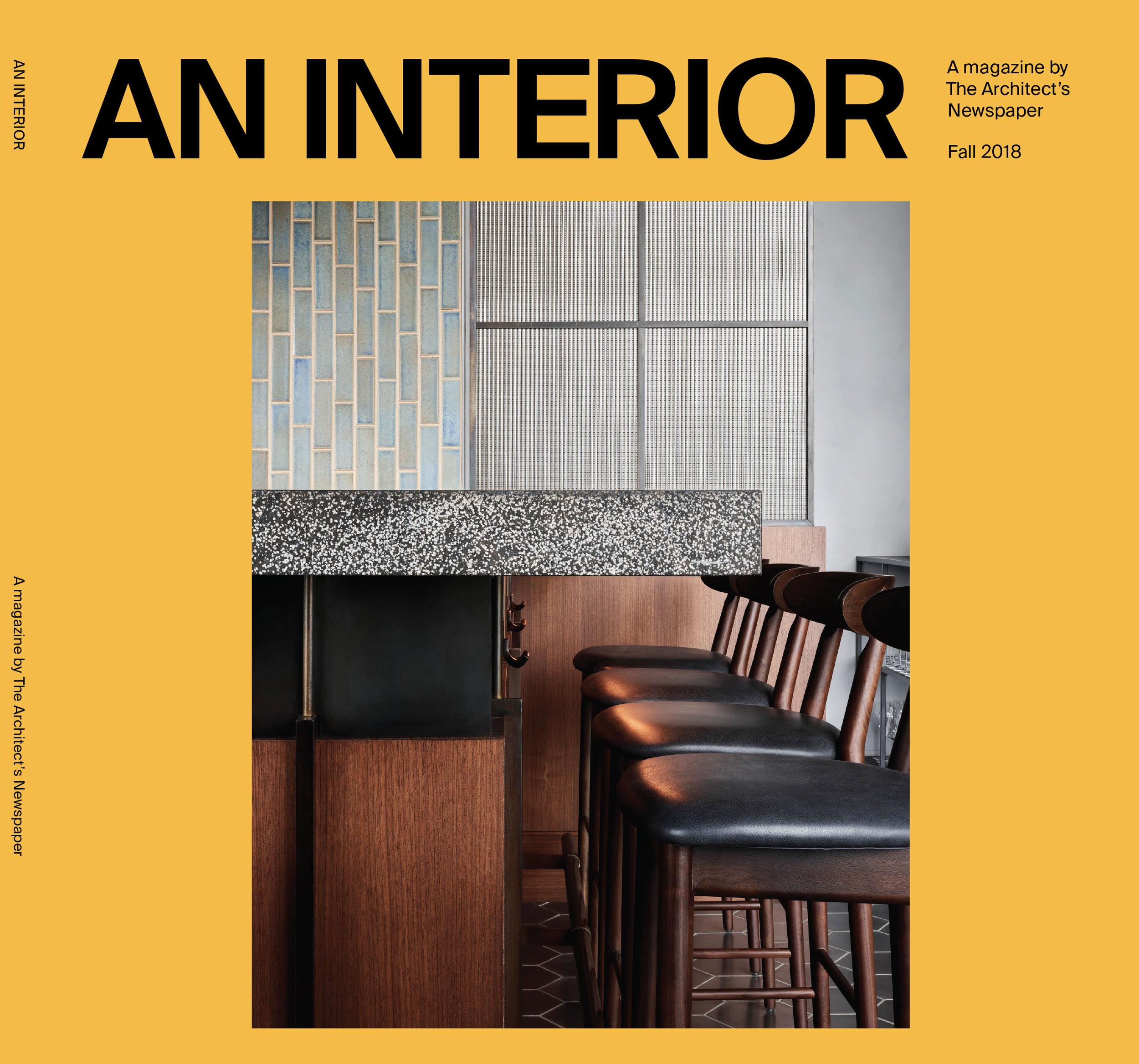 An Interior magazine, Fall 2018
