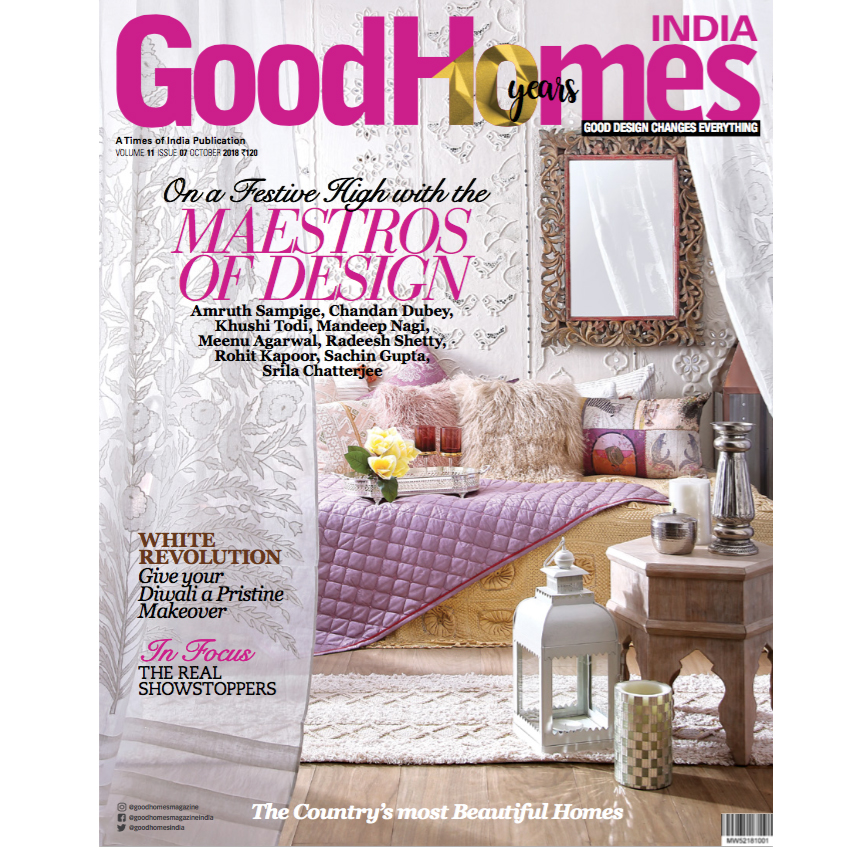 Good Homes India, 7 October 2018