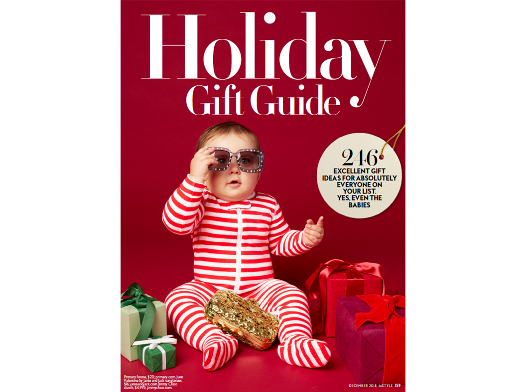 InStyle, Holiday Gift Guide, December 2018