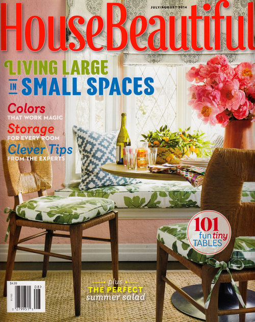House Beautiful, August 2014
