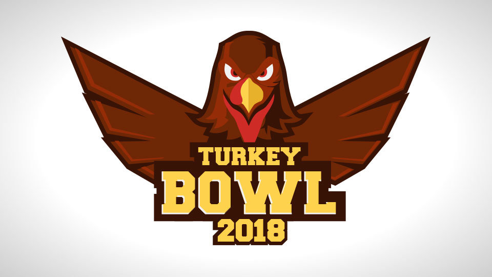 Turkey Bowl November 25 - Who's ready for our Elevate Youth Turkey Bowl??!! Make sure to wear your running shoes and meet us behind GTMS at 1:30pm to pick your team. Bring some friends and let's have some FUN. Questions? Contact Aaron Clements