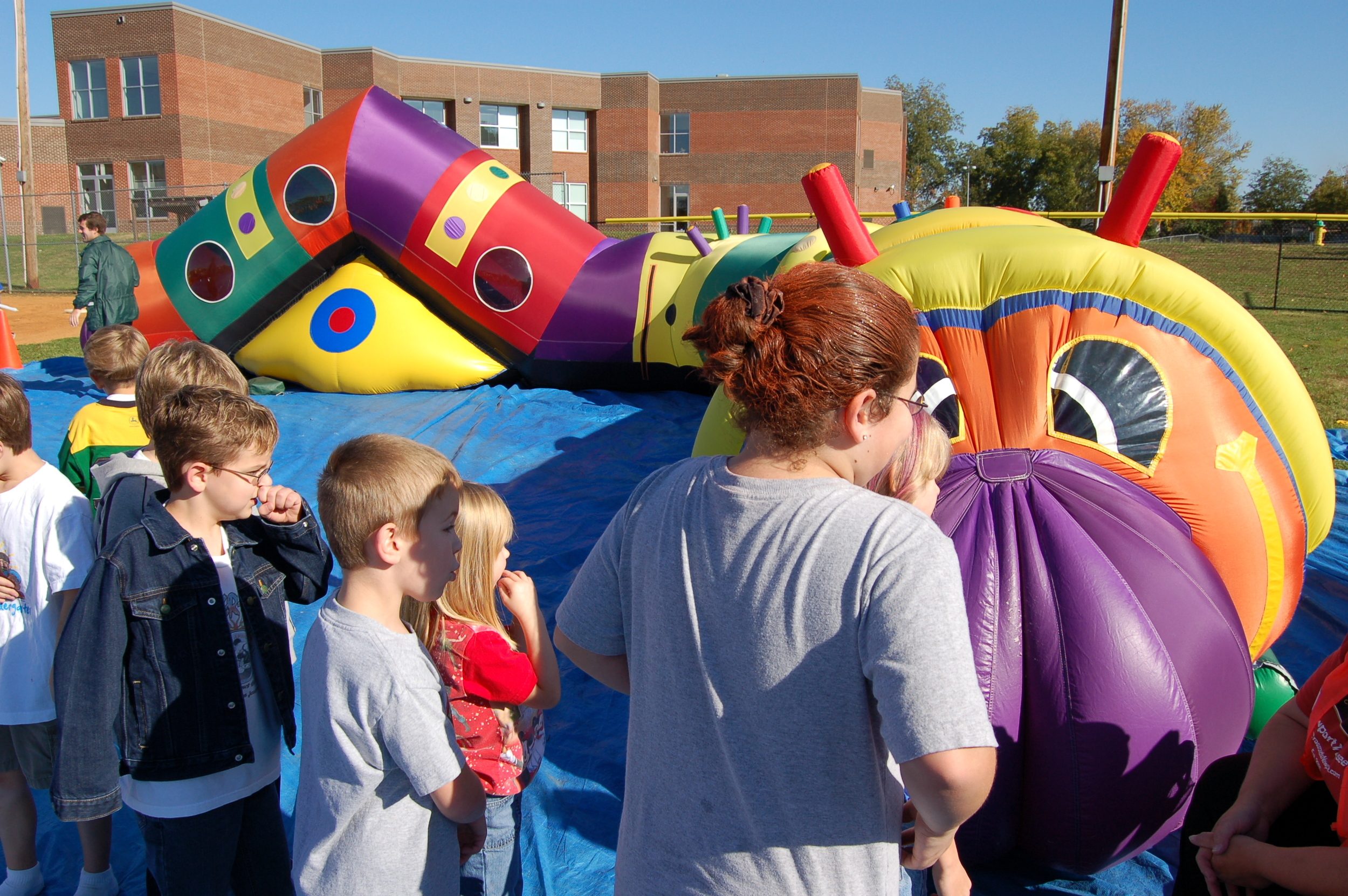 55ft Centipede Inflatable - This is a play lite and only weighs around 100 lbs. - Good shape - $1200
