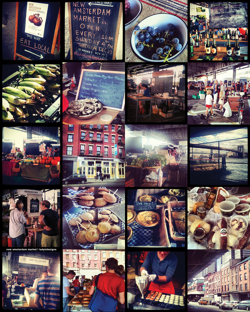 New Amsterdam Market, New York City