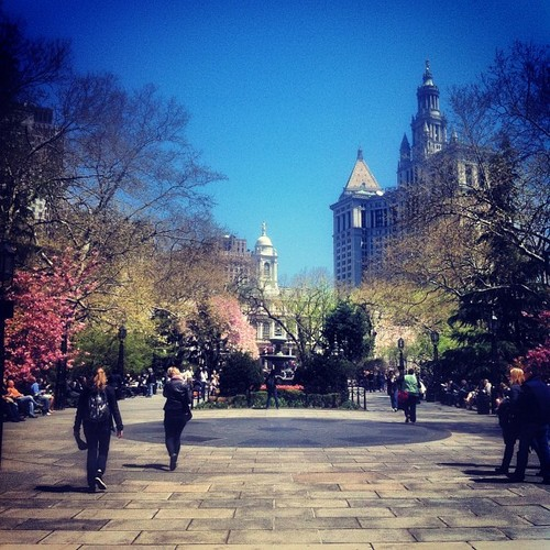 City Hall Park, NYC