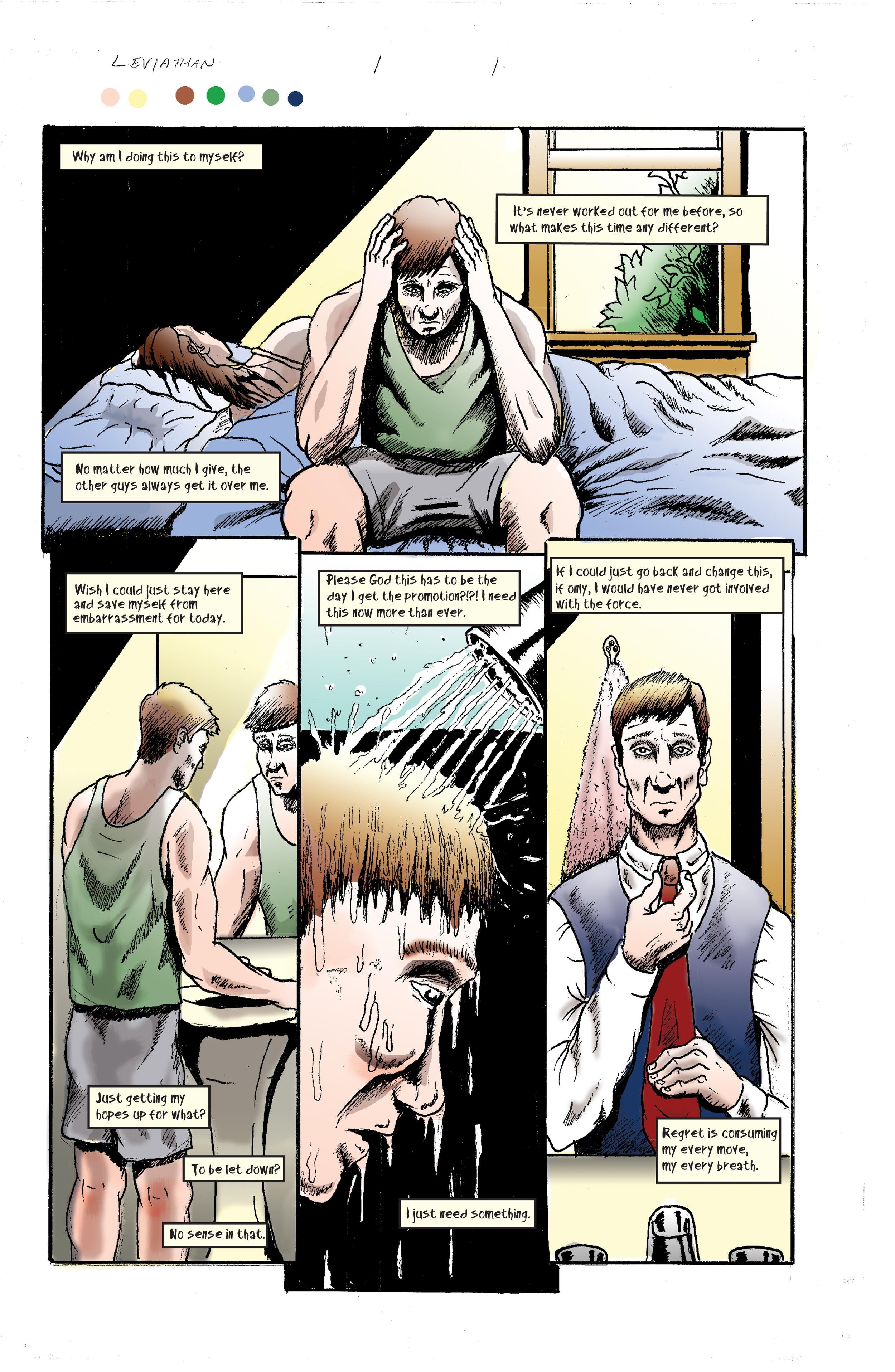 """""""Leviathan"""" page 1"""