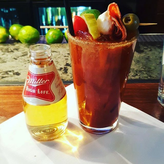 Merry Christmas to me. #SantasDrunk #breakfast #bloodymary