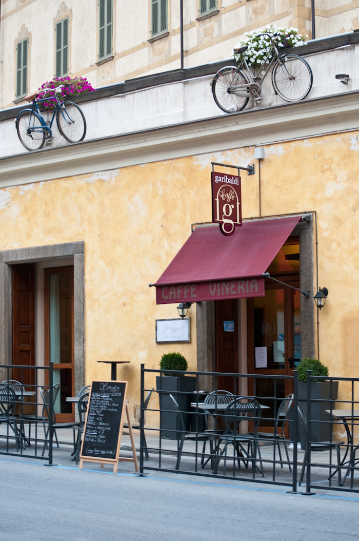 Cafe Garibaldi in Bra, Cuneo.