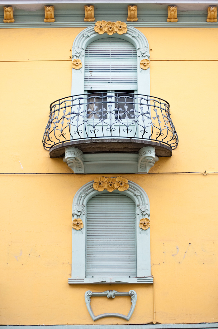 Architectural details- Bra, Italy