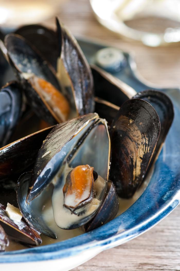 Nova Scotia mussels in Thai curry