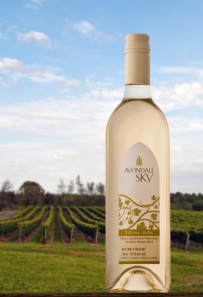 Avondale Sky Tidal Bay 2013 bottle