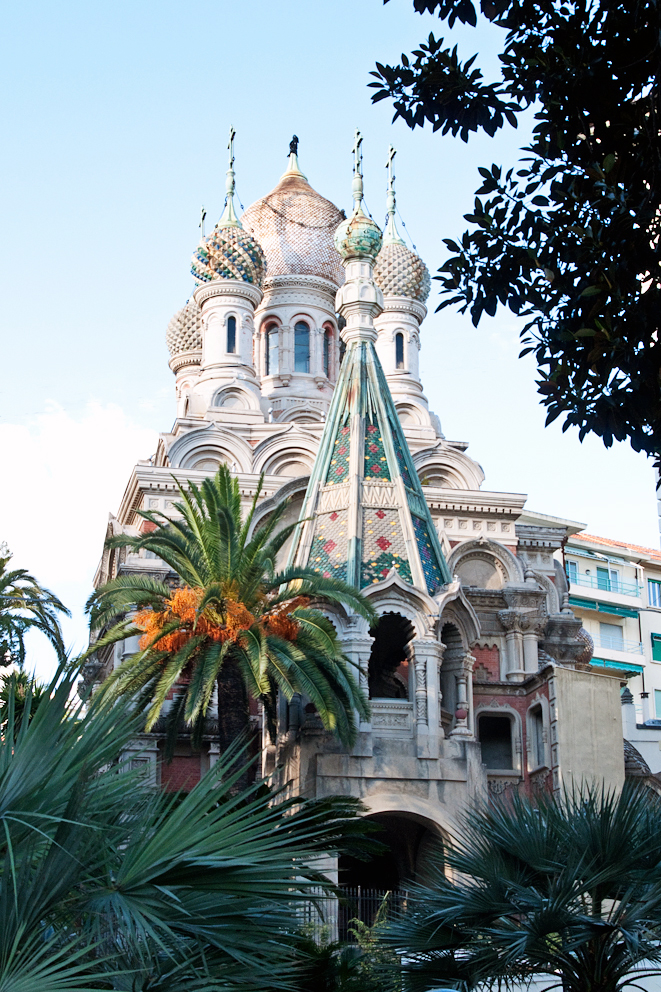 San Basilio- Sanremo's Russian Orthodox Church