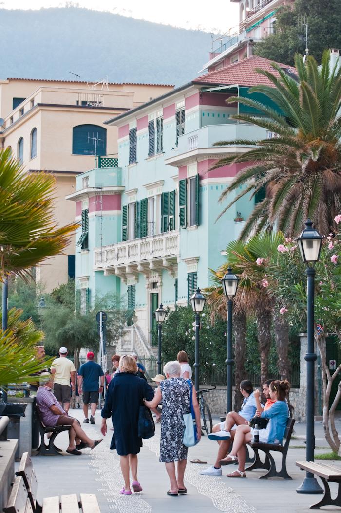 Strolling Monterosso's waterfront