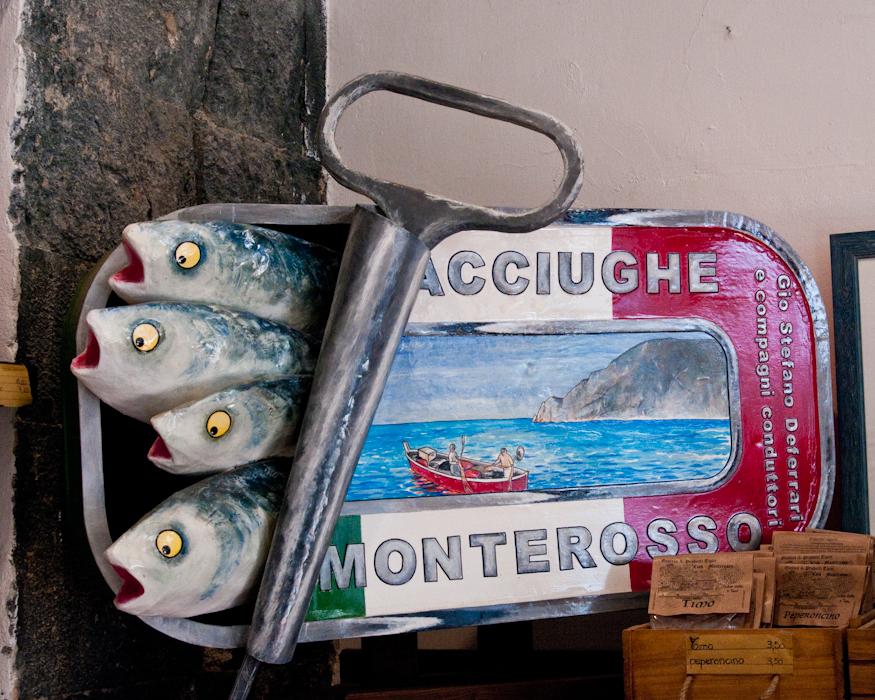 Monterosso anchovies