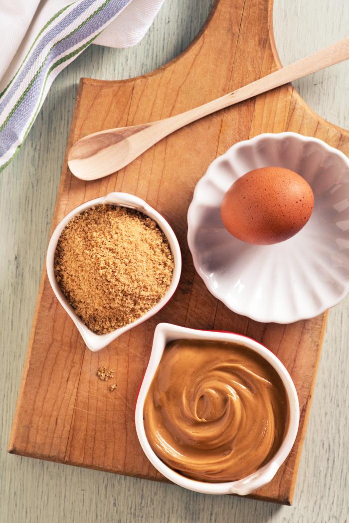 3 ingredient peanut butter cookie recipe