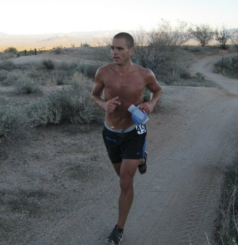 Dave James tears up the Javelina 100 Mile Course Record