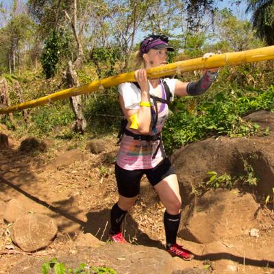 Canadian Morgan McKay tears it up at Survival Run: Nicaragua 2013