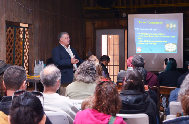 Dr. Mark Bridgen, Professor and Director of the Long Island Horticultural Research and Extension Centerat Cornell University led the seminar.