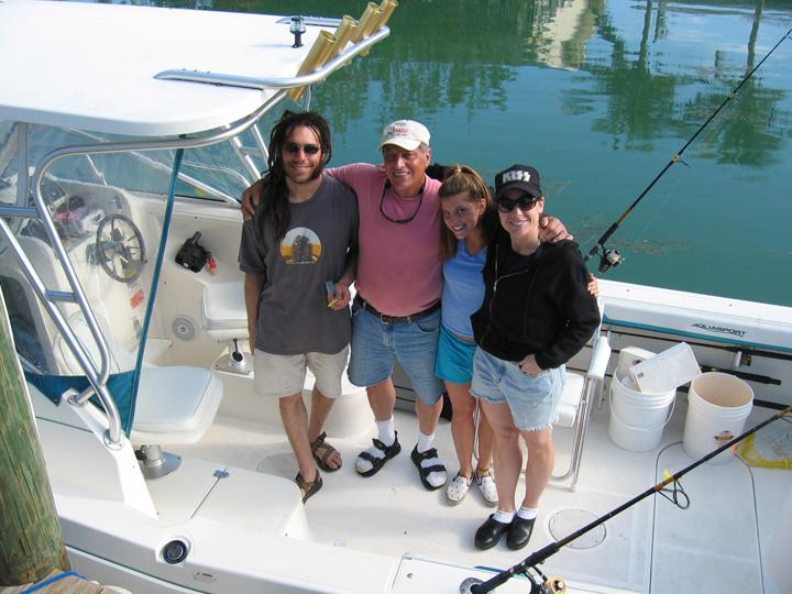 Brother John, Pops, Sister Kristin and Me