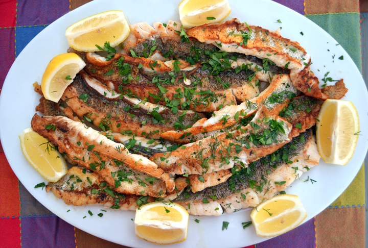 Pan Seared Golden Tilefish