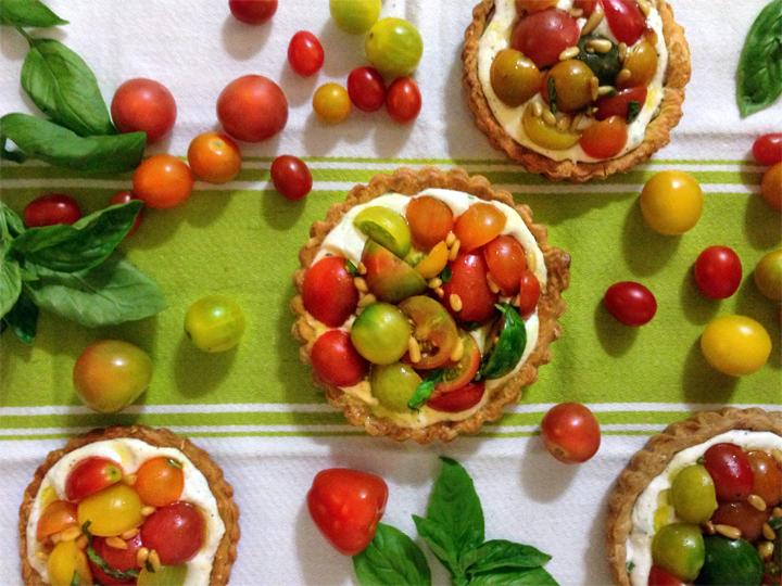 Heirloom Tomato Summer Tart
