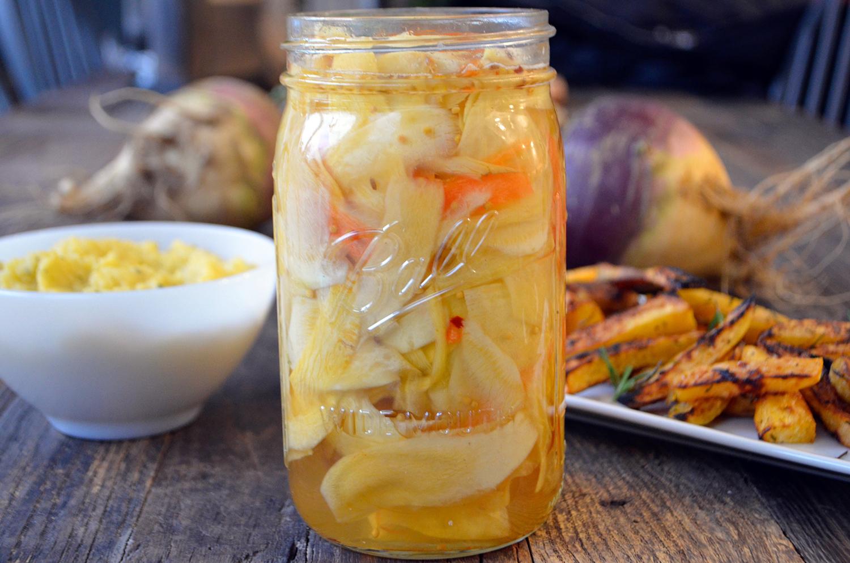 Pickled Rutabaga