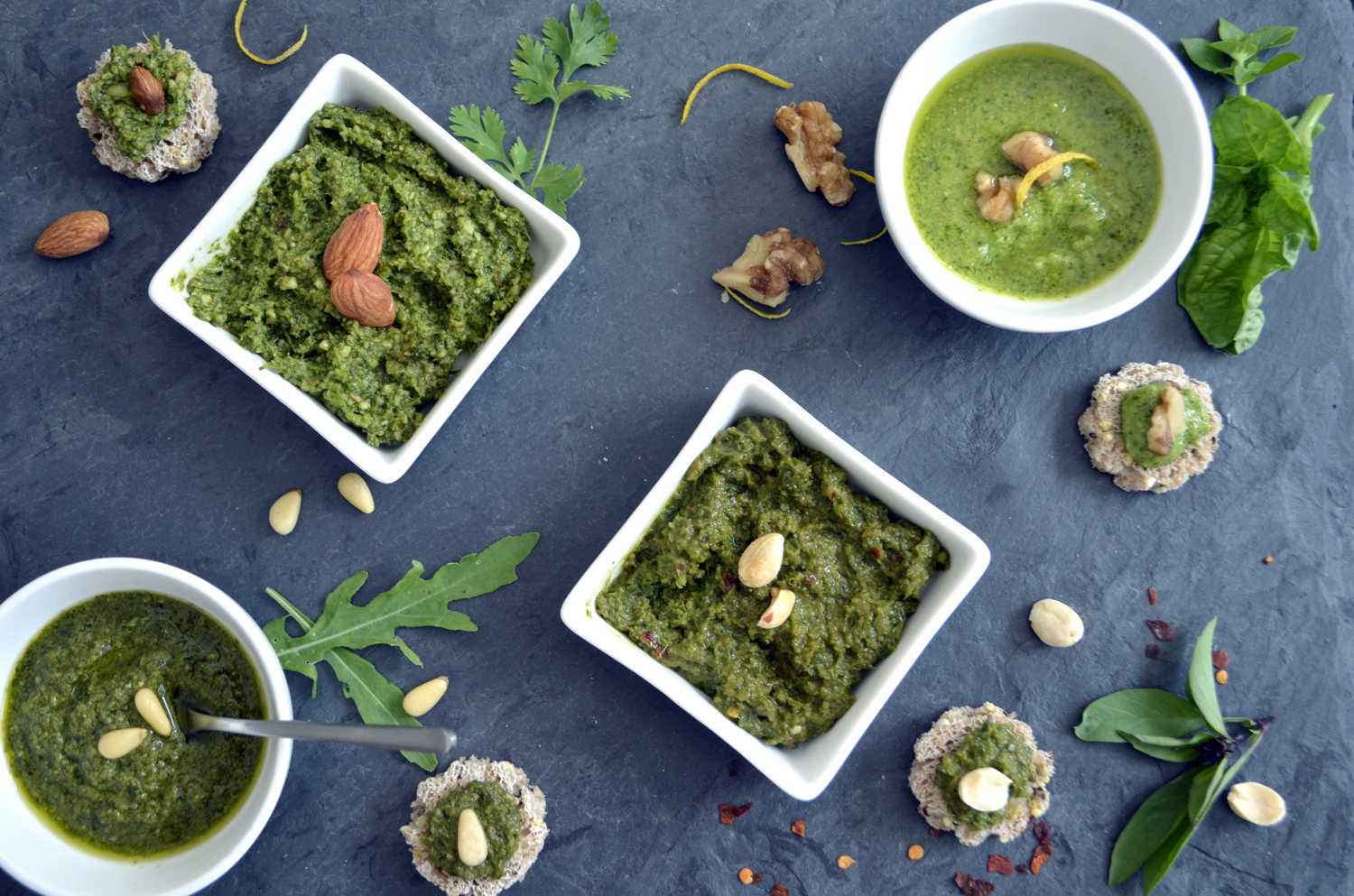 Nuts About Pesto