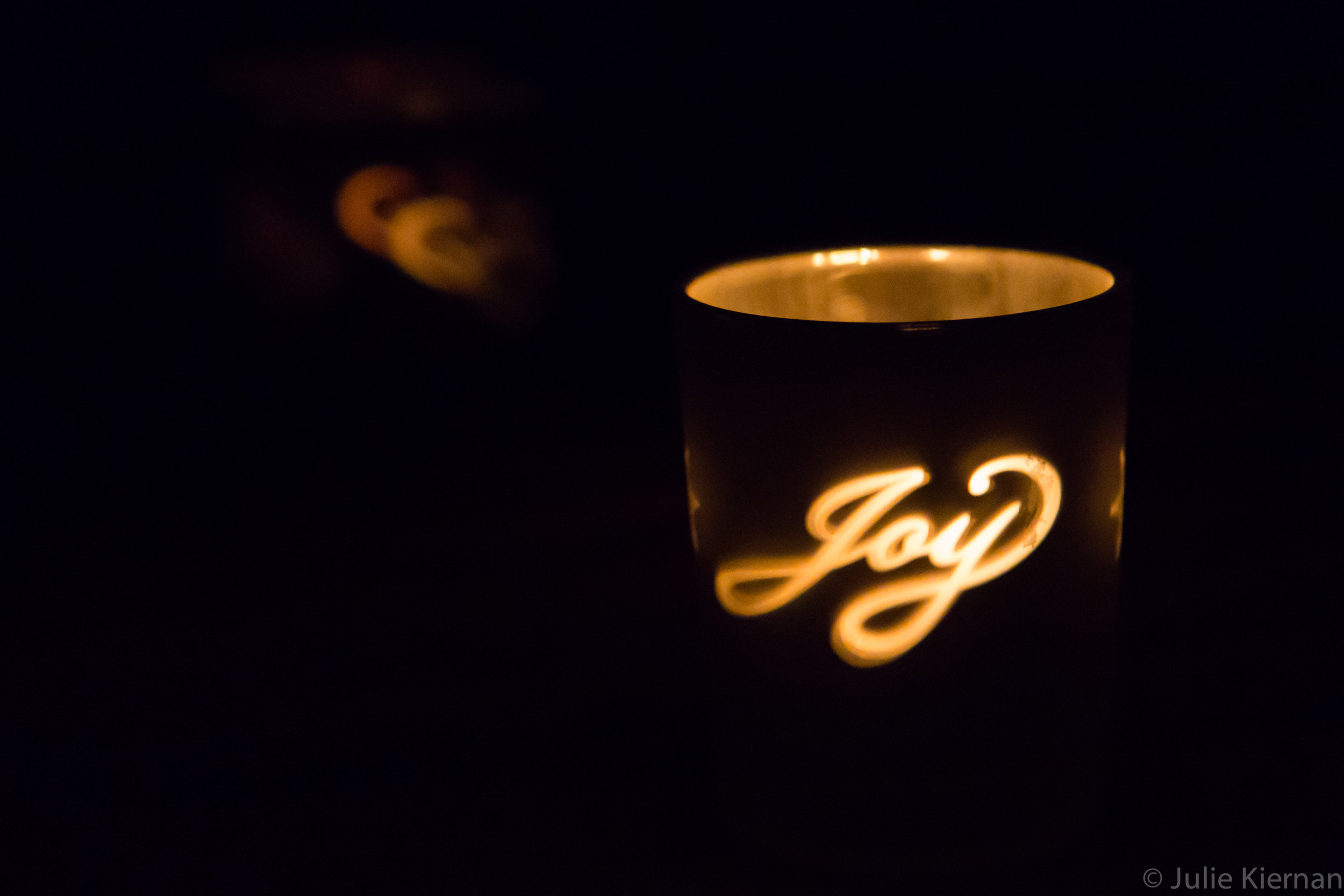 In memory of my sister, Sue, who radiated joy.