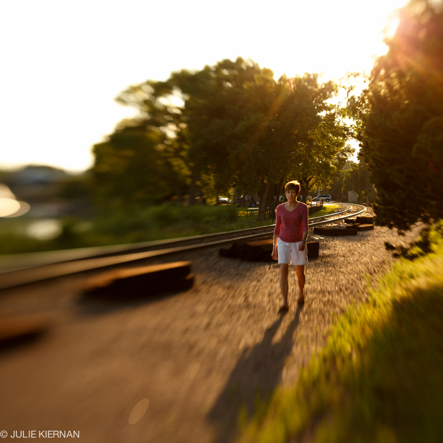48:5 Backlight Railroad Tracks Wayzata