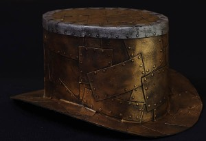 Rub N' Buff on Top Hat