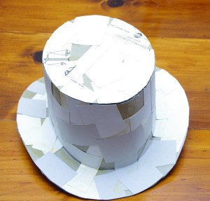 Homemade Steampunk Top Hat