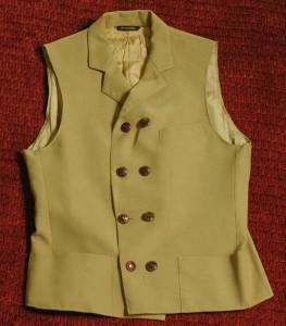 Homemade waistcoat for $7