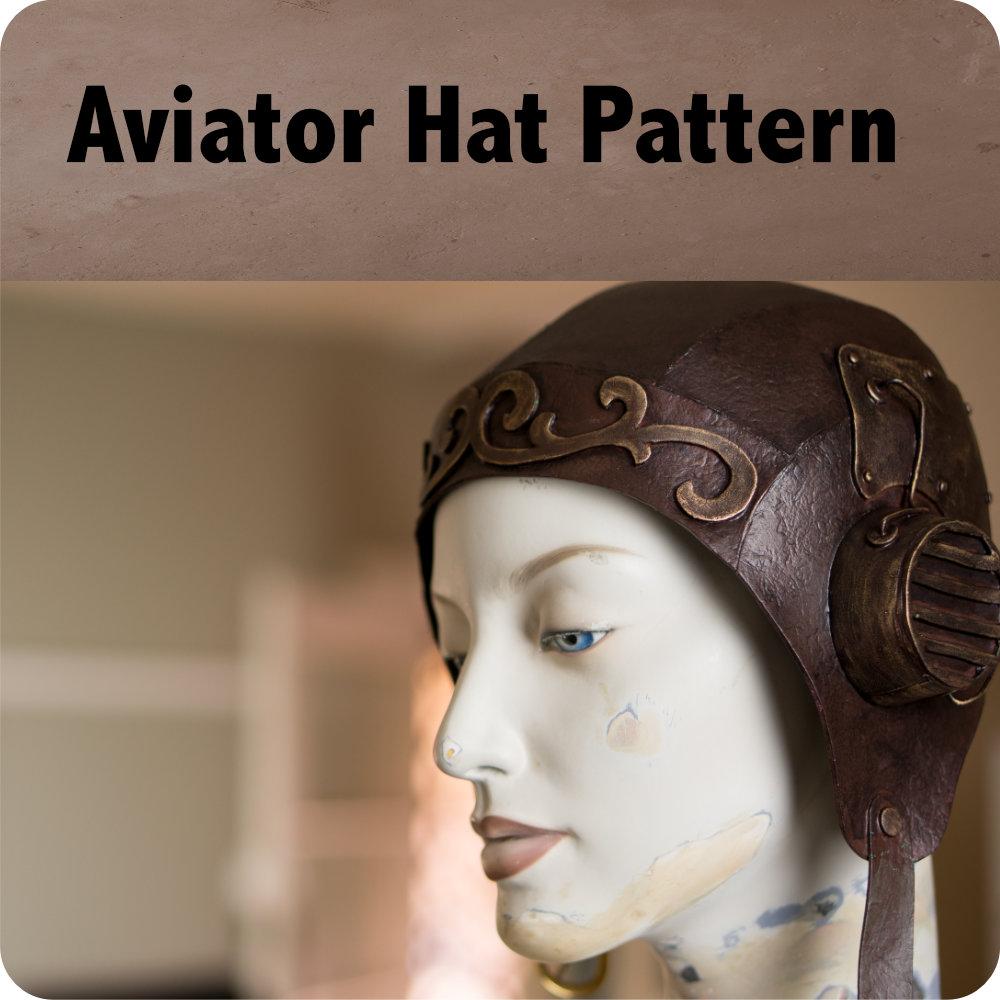 Steampunk Aviator Hat Pattern Photo