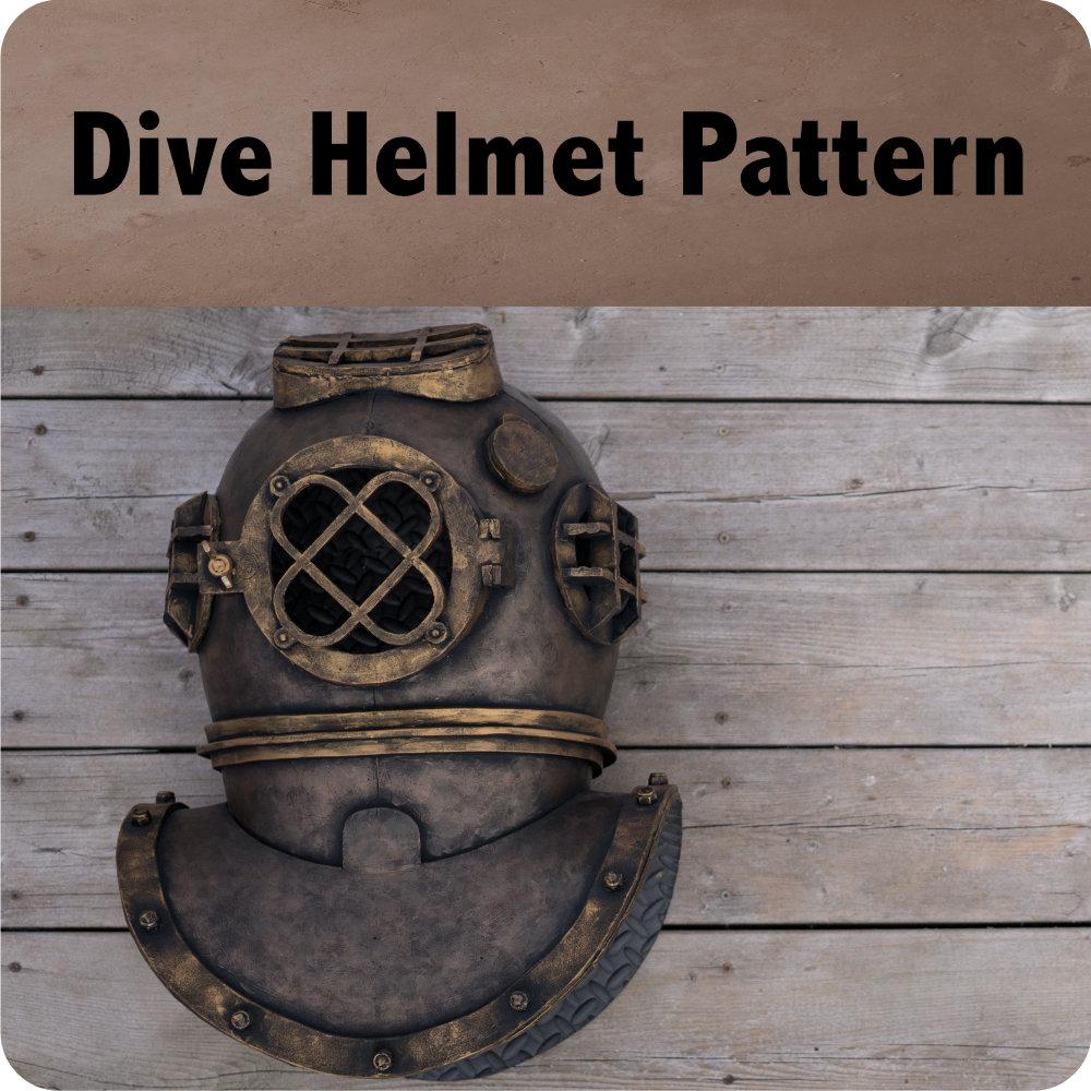 Dive Helmet Pattern Photo