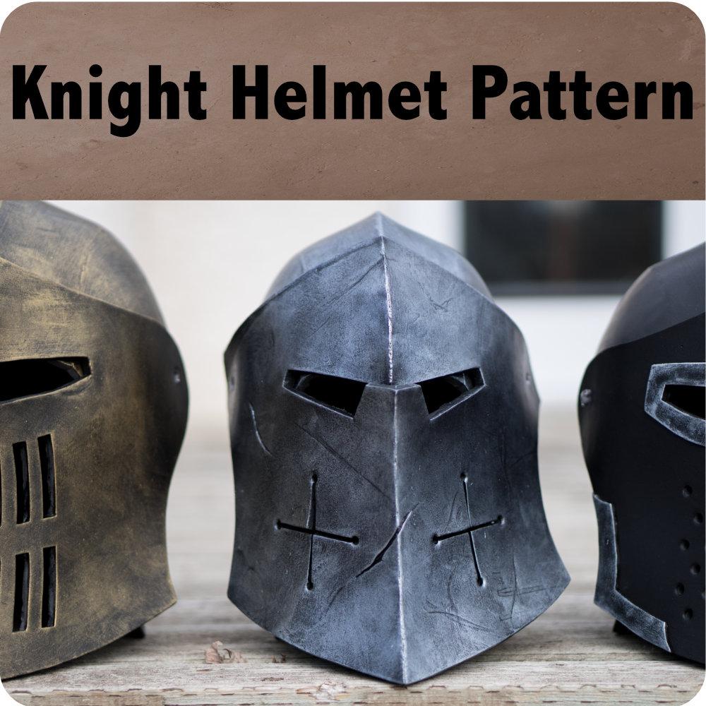 Knight Helmet Pattern Photo