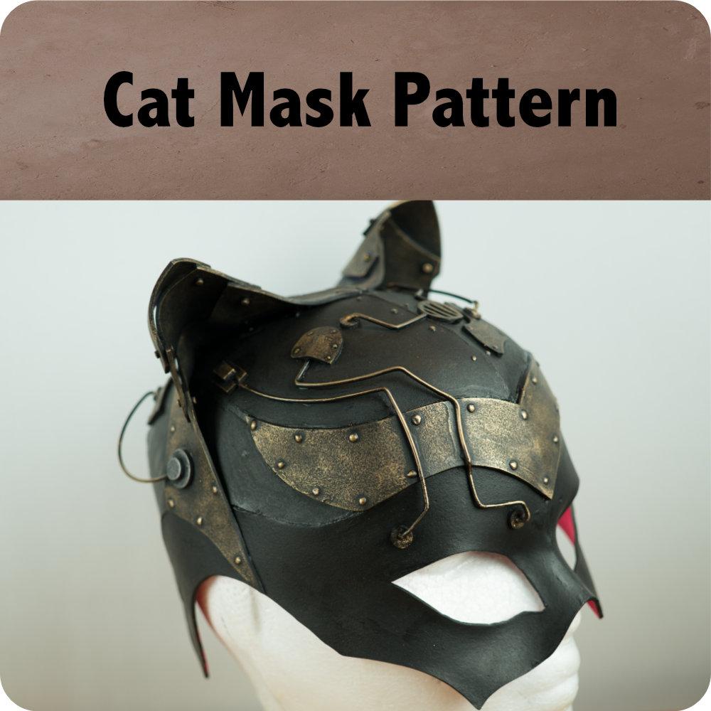 Cat Mask Pattern Photo