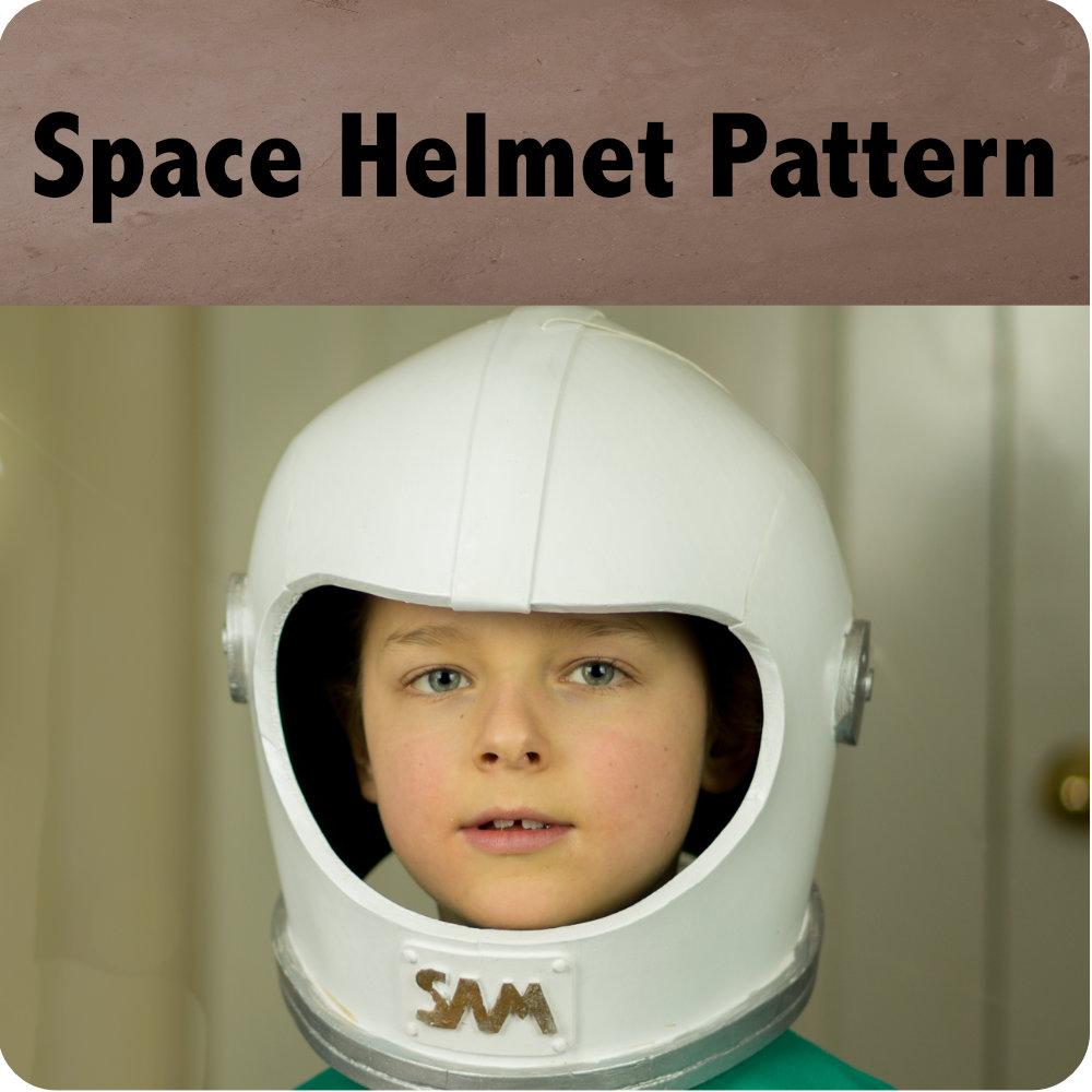 Space Helmet Pattern Photo