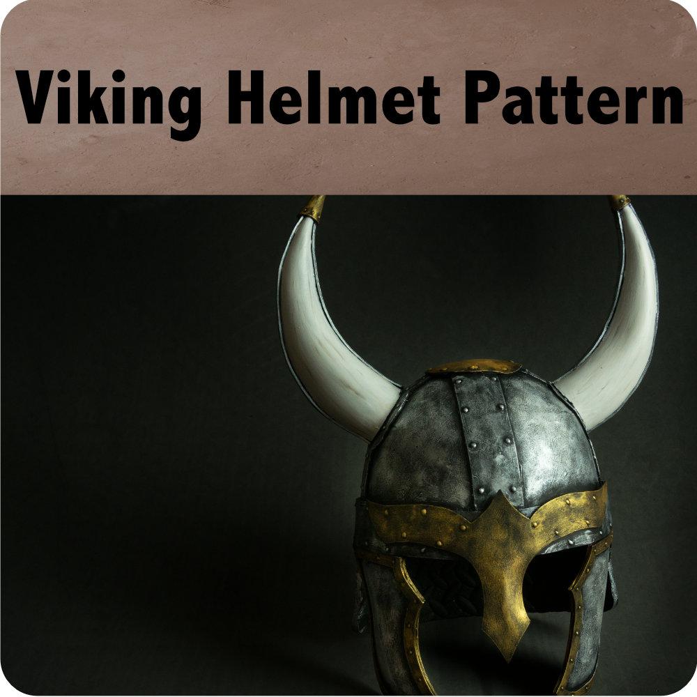 Viking Helmet Pattern Photo
