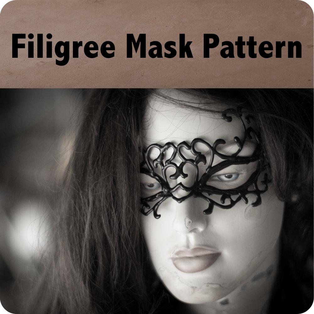 Filigree Mask Pattern Photo