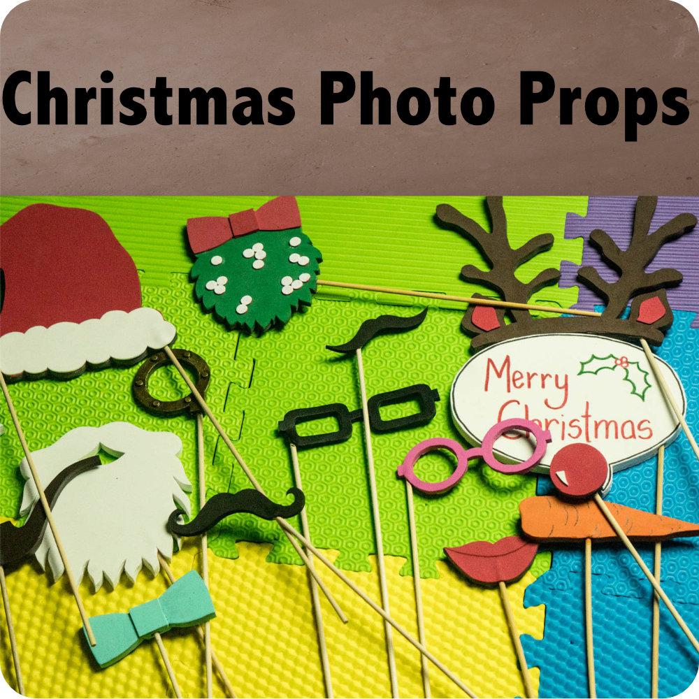 Free Christmas Photo Booth Printables