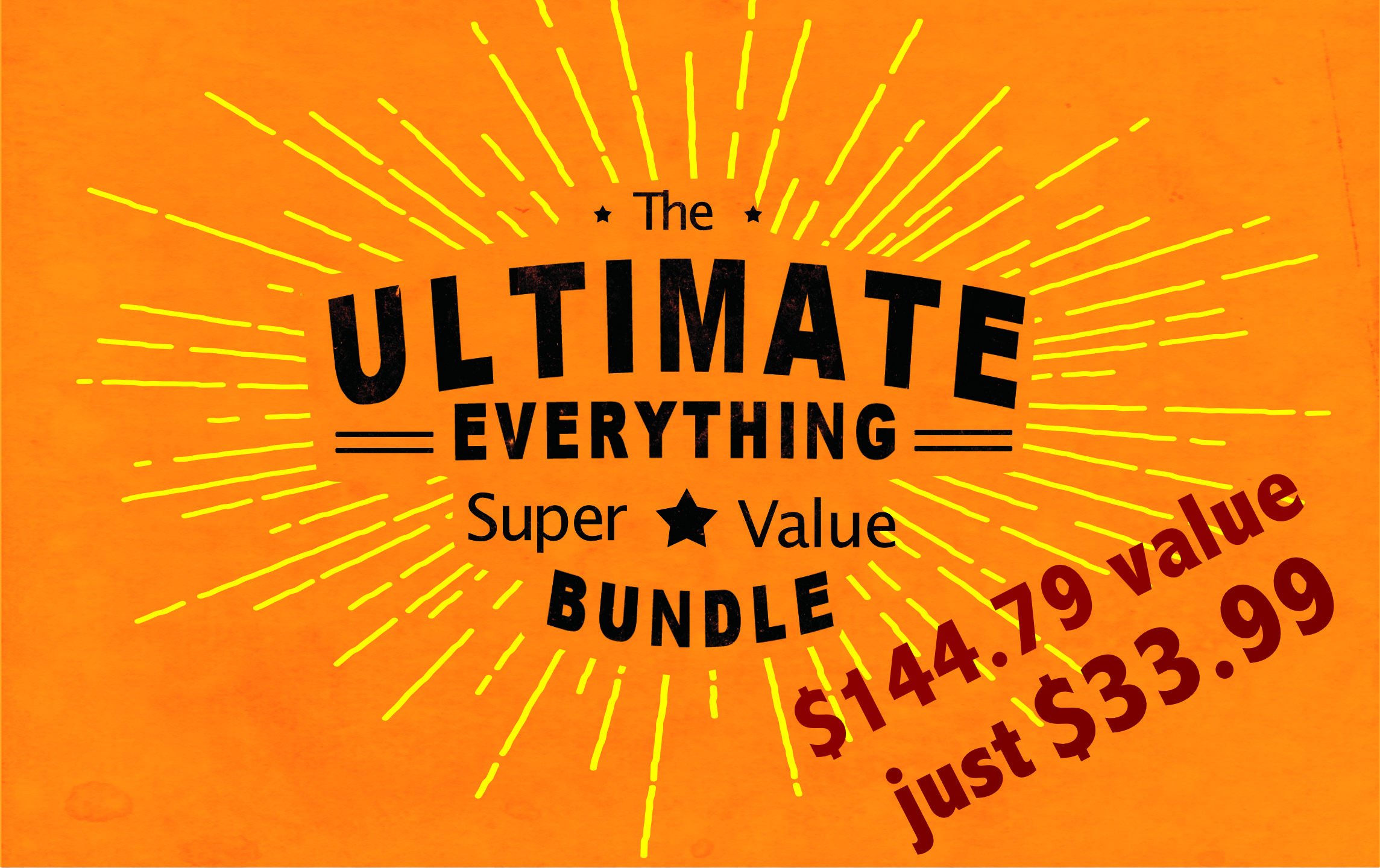 Buy The Ultimate Bundle Pack Here